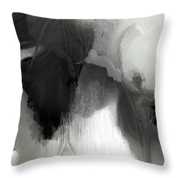 Black Synonyms 2 Throw Pillow