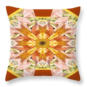 Blackberry Leaf 1 Throw Pillow