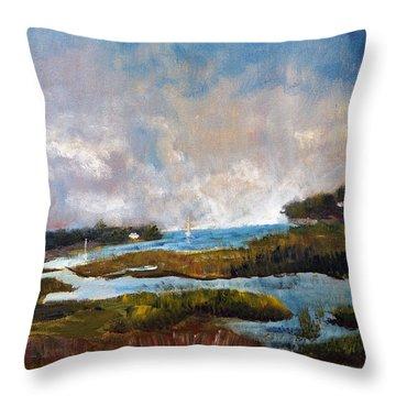 Blackfish Creek Throw Pillow