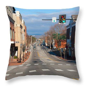 Blacksburg Virginia Throw Pillow