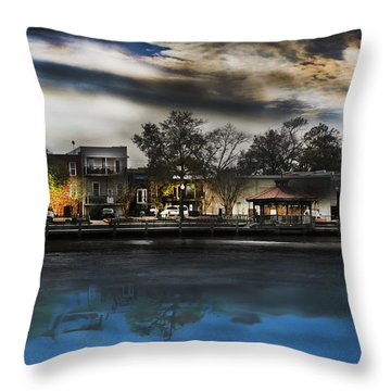 Blackwater River Throw Pillow