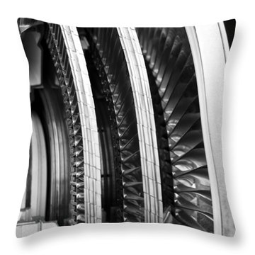 Blades Of Glory Throw Pillow