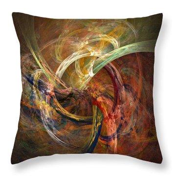 Blagora Throw Pillow by David April