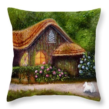 Blaise Rustic Cottage Throw Pillow
