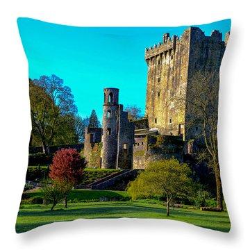 Blarney Castle - Ireland Throw Pillow