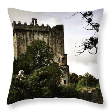 Blarney Castle Throw Pillow