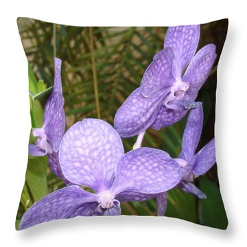 Blatantly Blue Throw Pillow