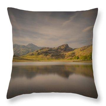Blea Tarn Lake District Throw Pillow