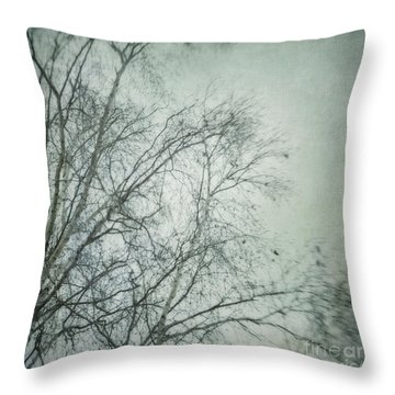 bleakly I Throw Pillow by Priska Wettstein