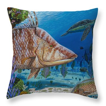 Blend In Re0015 Throw Pillow by Carey Chen