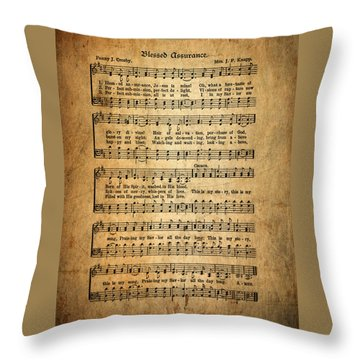 Blessed Assurance Throw Pillow