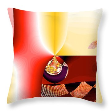 Blessing Throw Pillow