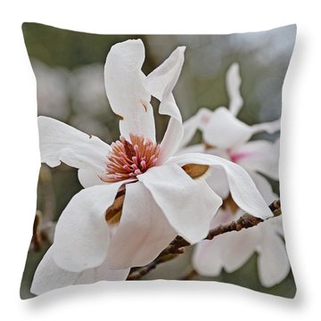 Throw Pillow featuring the photograph Blessings Of Spring by Linda Brown