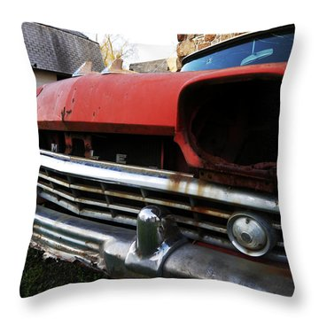 Blind Rambler Throw Pillow by Richard Reeve