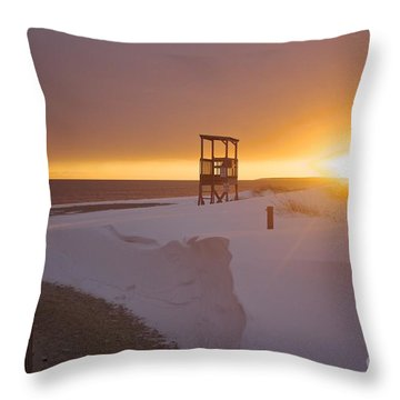 Blinded By The Sun Throw Pillow