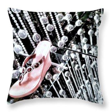Throw Pillow featuring the photograph Bling  by Robert McCubbin