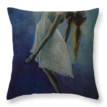 Bliss Throw Pillow by Dorina  Costras