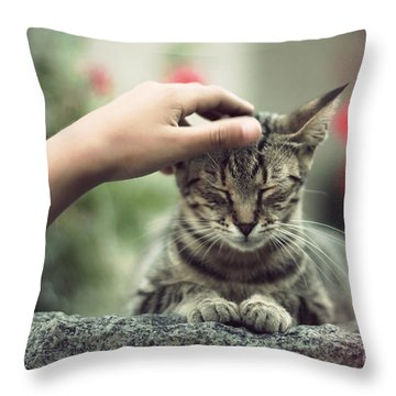Bliss Number 1 Throw Pillow