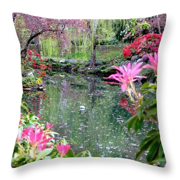 Bliss Throw Pillow by Shirley Sirois