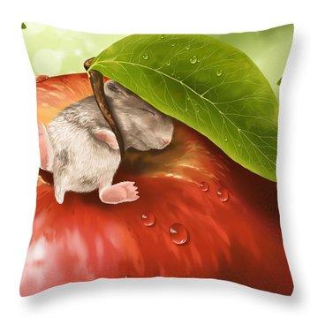 Bliss Throw Pillow by Veronica Minozzi