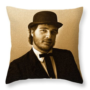 Blissed Throw Pillow