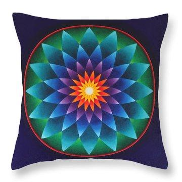 Blissful Awakening Throw Pillow