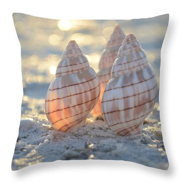 Blissful Throw Pillow