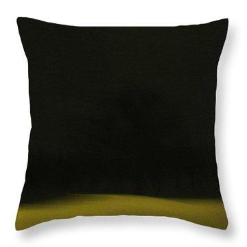 Blizzard Throw Pillow by Leanna Lomanski