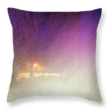 Blizzard Throw Pillow
