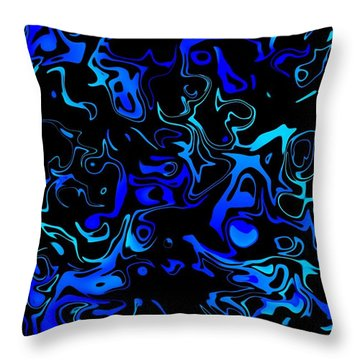 Bloid II Throw Pillow