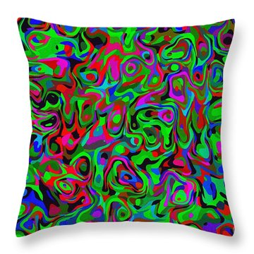 Throw Pillow featuring the photograph Bloingle by Mark Blauhoefer