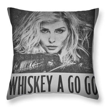 Debbie Harry Throw Pillows
