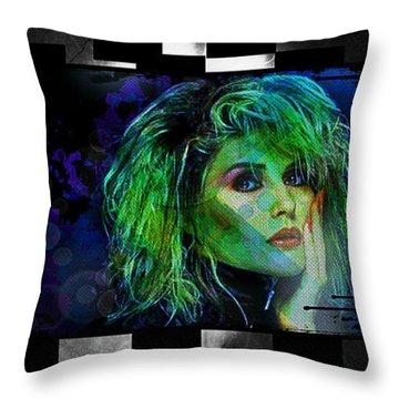 Blondie - Debbie Harry Throw Pillow