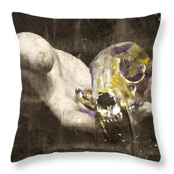Blood Magick Throw Pillow