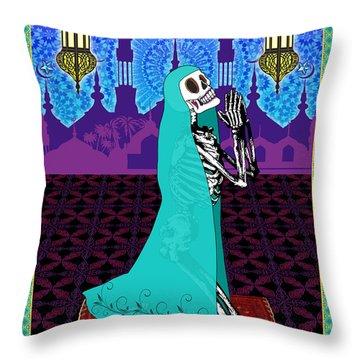 Bloody Islamic Mary Throw Pillow by Tammy Wetzel