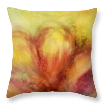 Bloom  Throw Pillow by Ann Powell