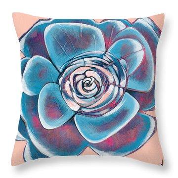 Bloom I Throw Pillow