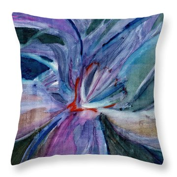 Bloom II Throw Pillow