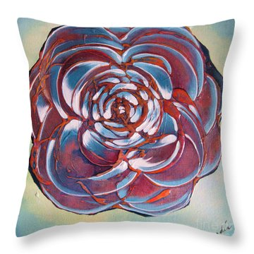Bloom II Throw Pillow