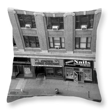 Bloomfield Avenue Throw Pillow