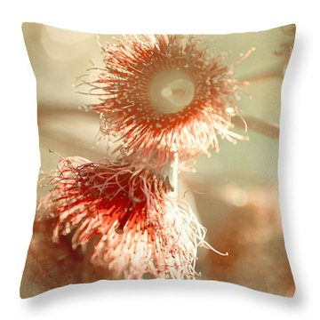 Blossom And Bokeh Throw Pillow
