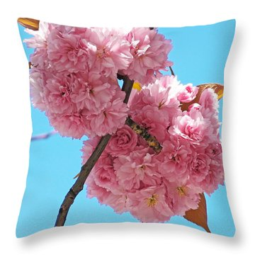Blossom Bouquet Throw Pillow