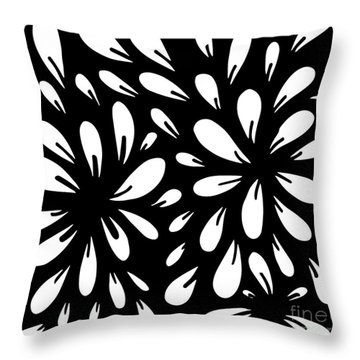 Blossom Throw Pillow by HD Connelly