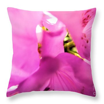Throw Pillow featuring the photograph Blossoming Beauty by Robyn King