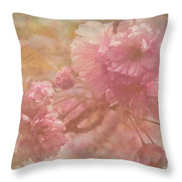 Blossoms Splender Throw Pillow by Arlene Carmel