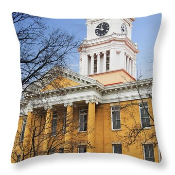 Blount County Courthouse Throw Pillow