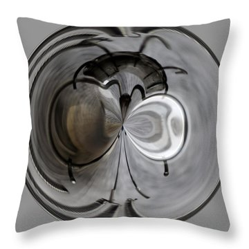 Blown Out Filament Throw Pillow by Tikvah's Hope