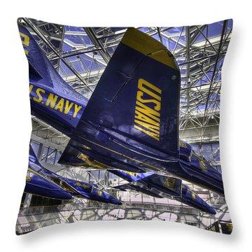 Blue Angels 2 Throw Pillow