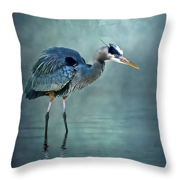 Blue Bayou Throw Pillow by Brian Tarr
