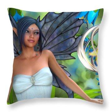 Blue Bell Magic Throw Pillow